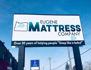 Eugene Mattress Company Billboard